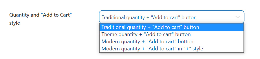 """Quantity and """"Add to Cart"""" style"""