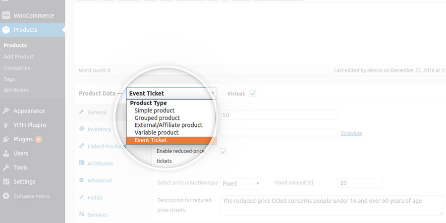 YITH Event Tickets Free version settings – How to Make Tickets for an Event Free