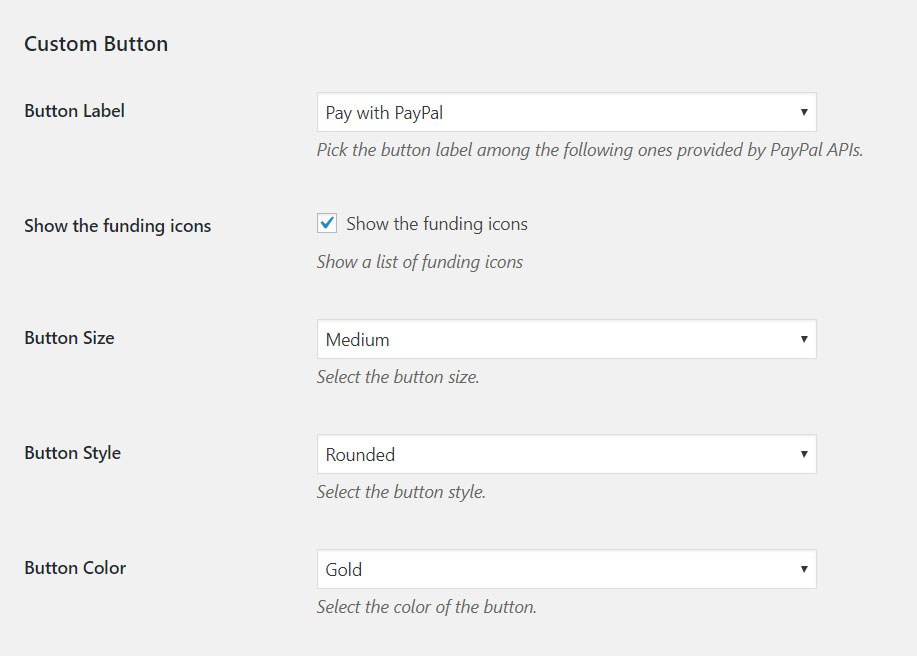 PayPal-custom-button