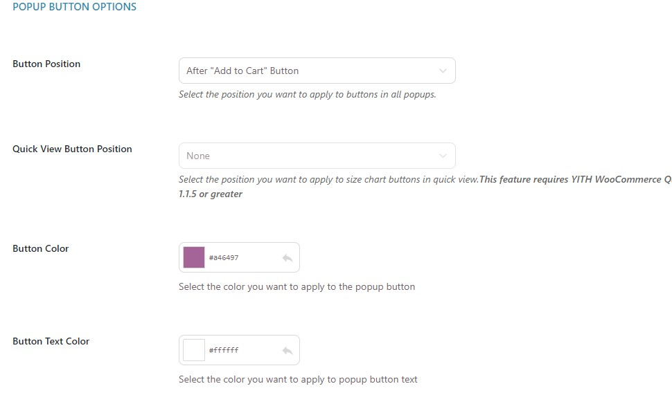 Popup button options 1