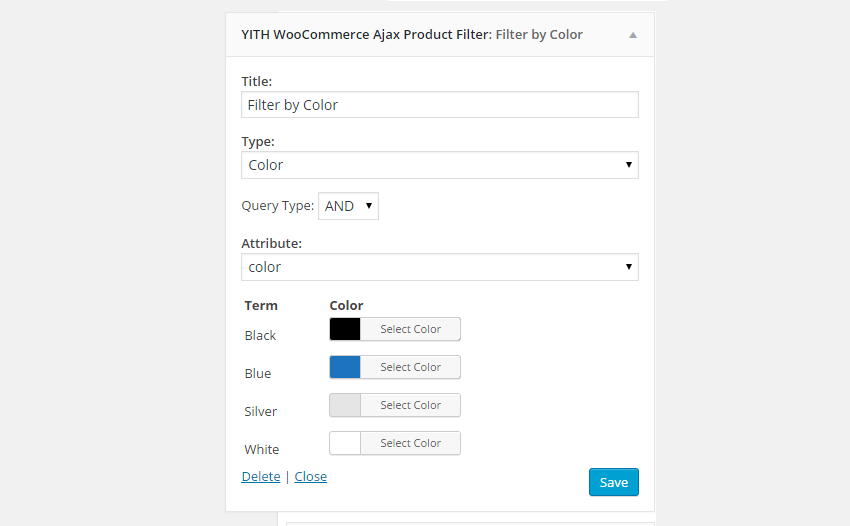 """Type """"Color"""""""