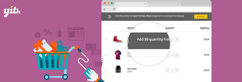 YITH WooCommerce Cart Messages