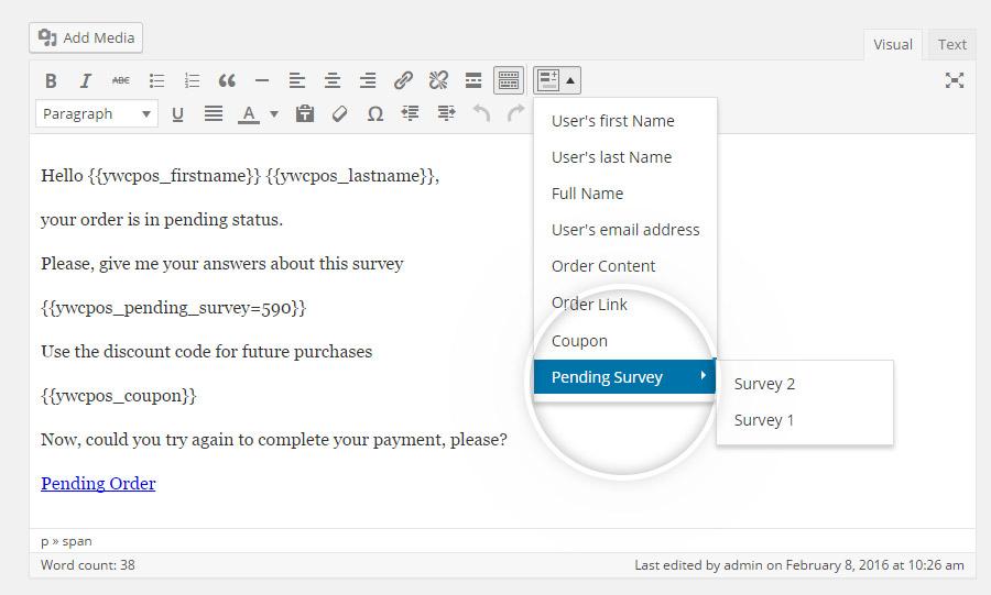 Select survey