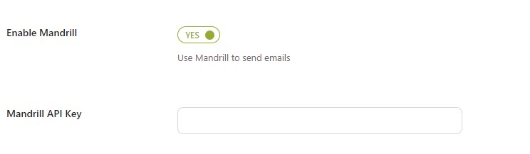 Enable Mandrill to send review reminders
