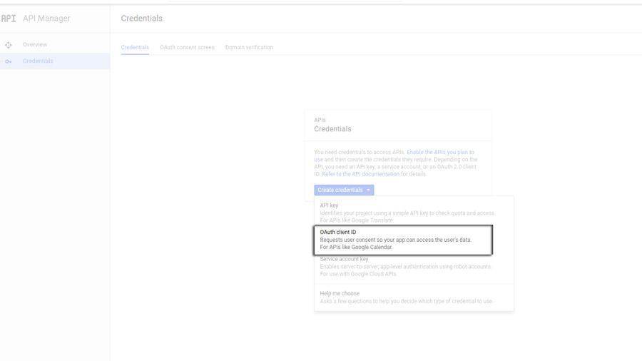 YITH Social Login: Google configuration settings