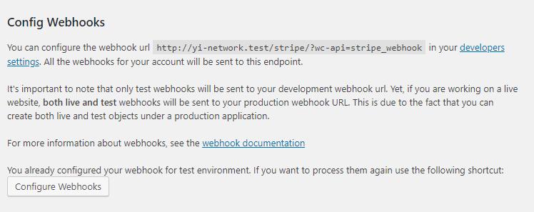 Config webhooks